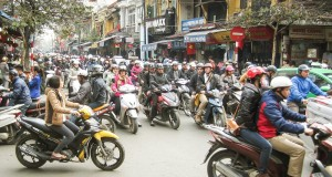 Hanoi Traffic 3 (Flickr Credit - Simon Morris)